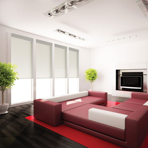 QMotion Roller Blinds