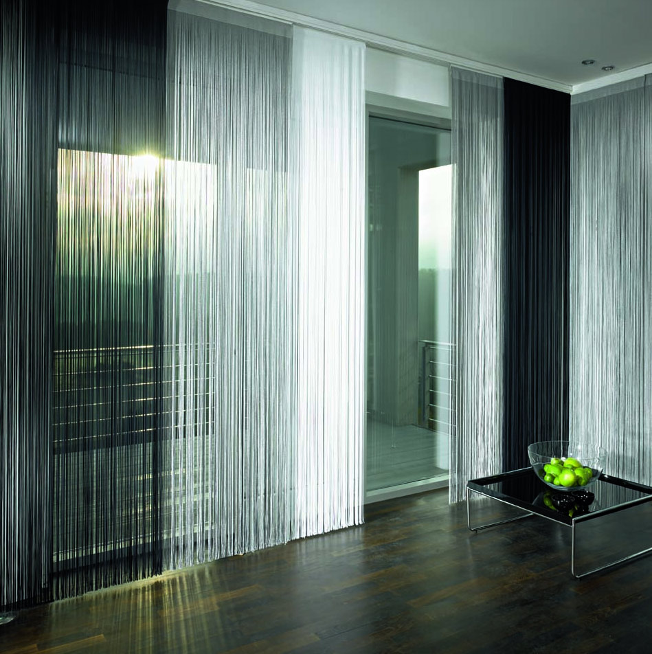 Strand and string curtain