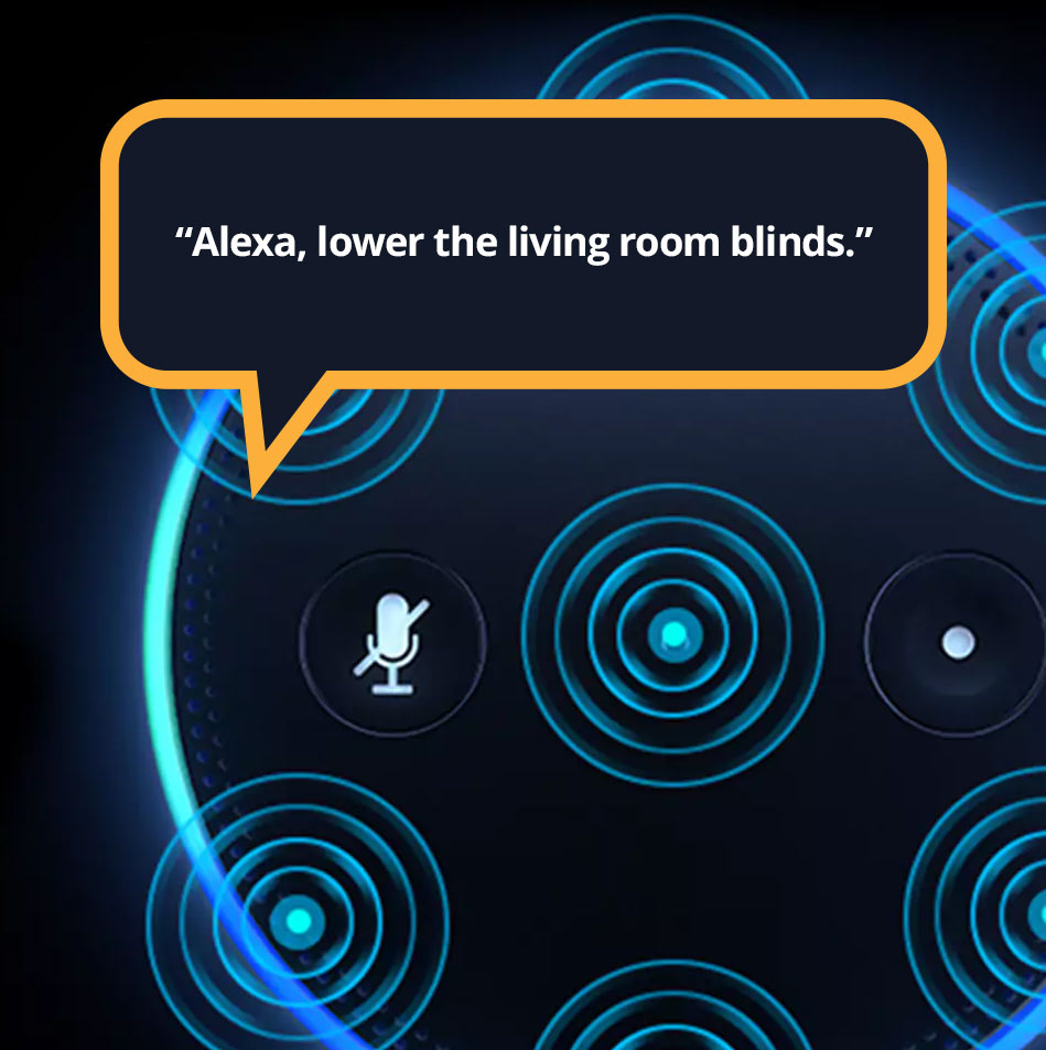 Alexa control for Window Shading
