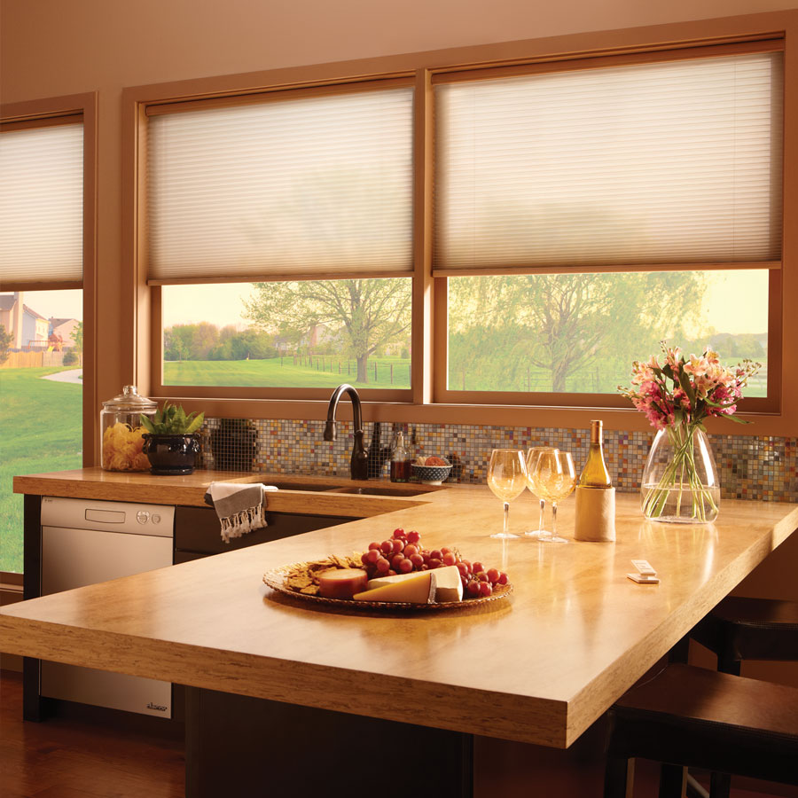 Motorised Electric Pleated Blind