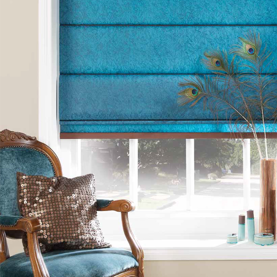 Electric Roman Blinds Mains Or Battery Window Shading