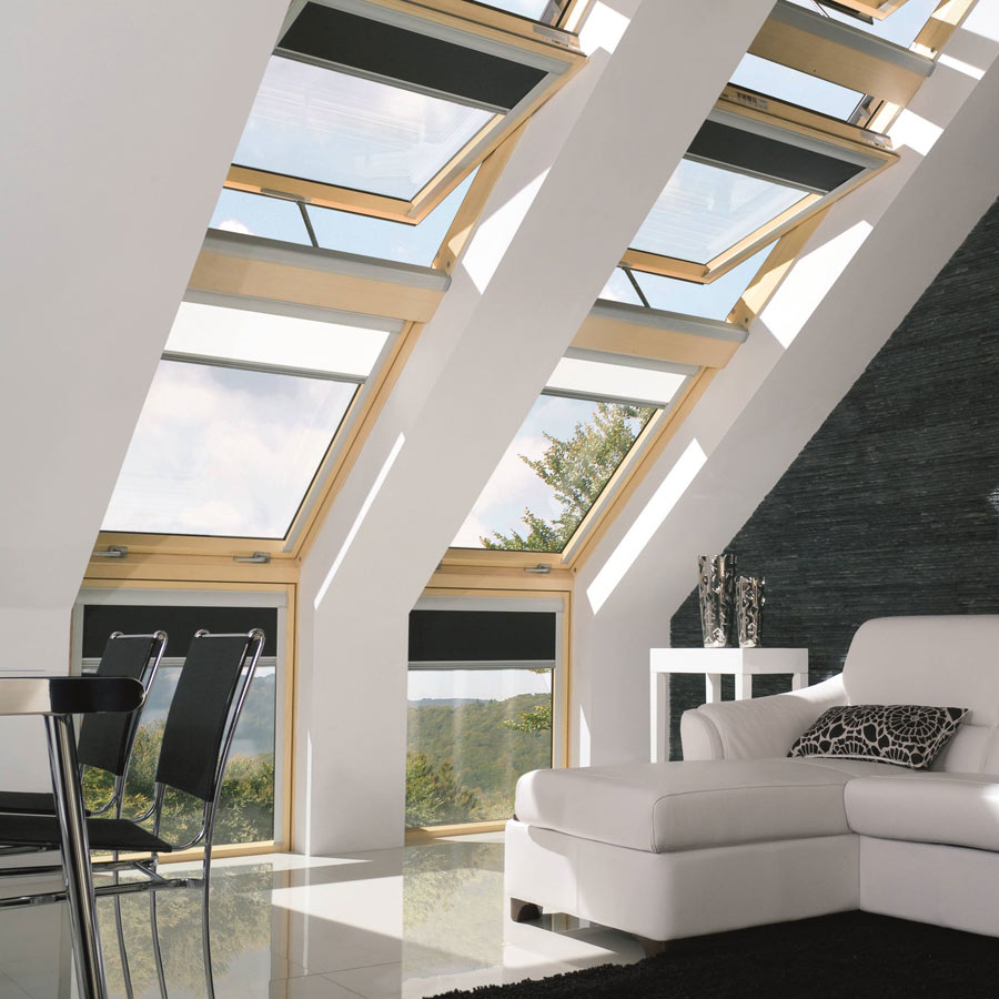 Electric Skylight Blinds Window Shading Experts Window