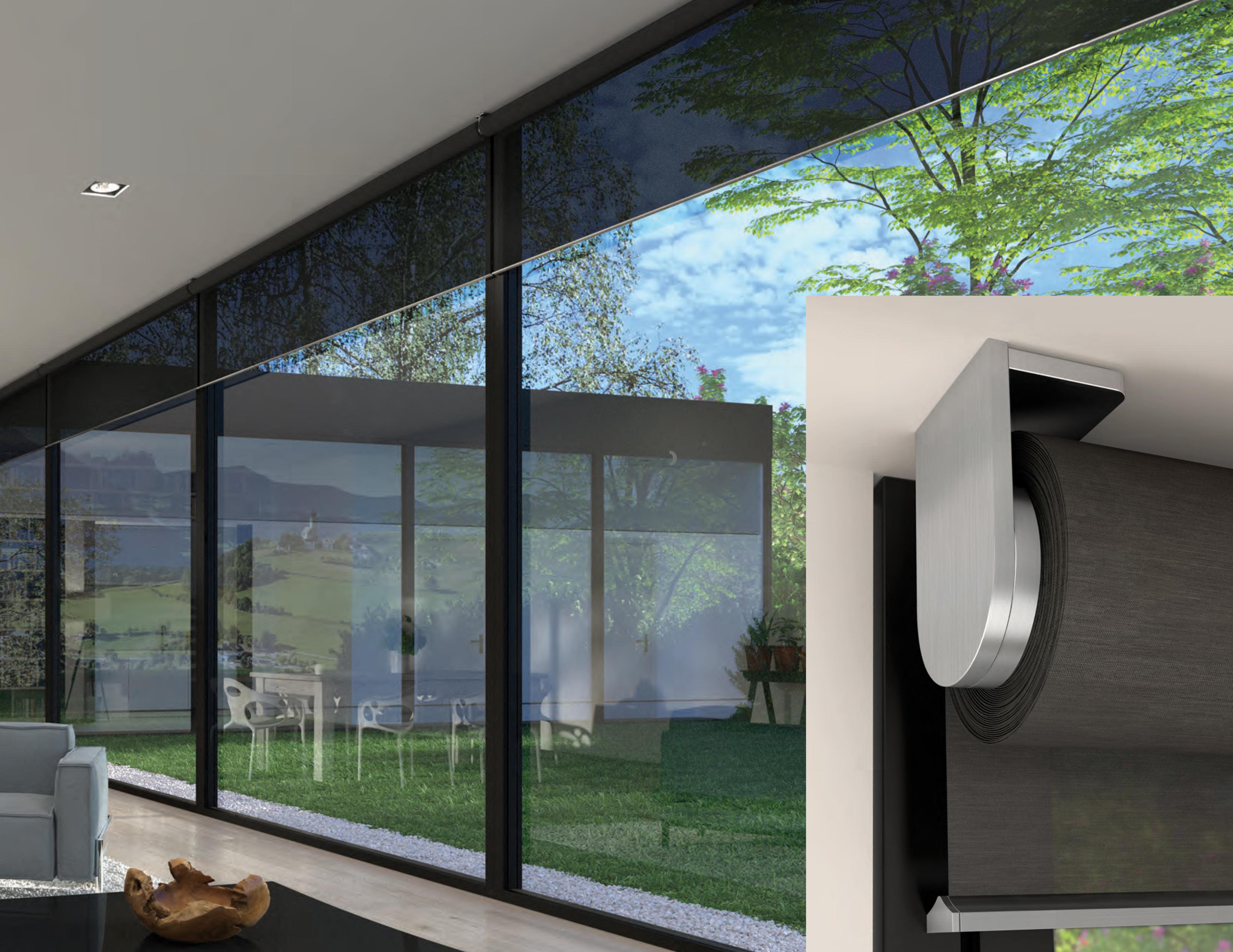 Lutron Palladiom Automated Blinds Window Shading