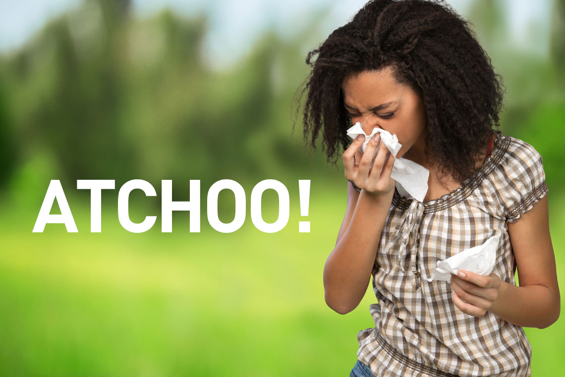 Get ready for Summer! Did you know that 25 million people worldwide suffer from Hay Fever!